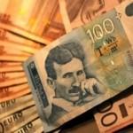Dinar jači prema evru za 11 para