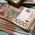Dinar sutra na istorijskom minimumu