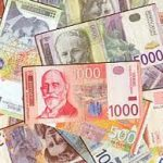 Dinar danas slabiji