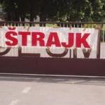 """Radnici  """"Panafleksa"""" od danas u štrajku"""