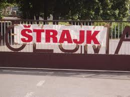 """Radnici kompanije """"Dalmacijavino"""" u štrajku"""