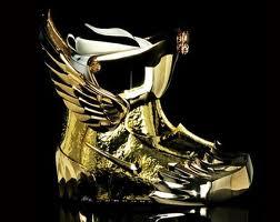 Najk napravio zlatne čizme za snoubord