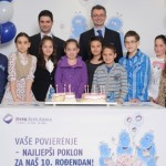 Mlade štediše čestitale 10. rođendan Hypo banci Banja Luka