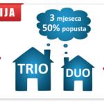 Blicnet: Akcija – TRIO paket u pola cijene