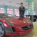 Princ Albert želi električni automobil Mate Rimca