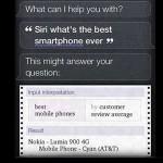 Siri: 'Najbolji smartfon je Nokia Lumia 900'