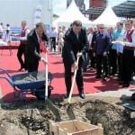 Dodik položio kamen temeljac za novu fabriku kod Bijeljine