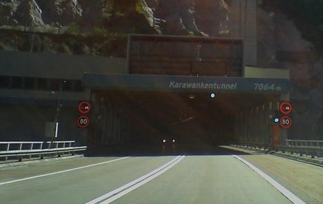 Tunel Karavanke sutra zatvoren