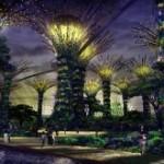 Solarno super drveće u Singapuru
