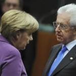 Merkel i Monti u srijedu o krizi u evrozoni