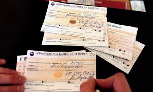 Srbija: Svaka druga veća kupovina u hipermarketima je na čekove