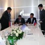 """Dodik potpisao Memorandum o saradnji sa """"Gaspromom"""""""