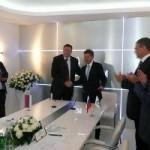 """Potpisan Memorandum o saradnji sa """"Gaspromom"""""""