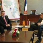 Unaprijediti ekonomsku saradnju Srpske i Makedonije