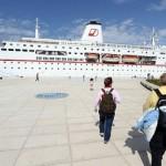 Putnici kruzera vole Grčku