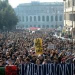 Demonstracije u Rimu i većim italijanskim gradovima