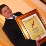 """Direktor Nove banke dobitnik priznanja """"Najmenadžer 2012. godine"""""""