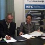 Potpisan ugovor o poboljšanju poslovnog okruženja