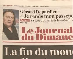 Depardje: Otišao sam zbog medija