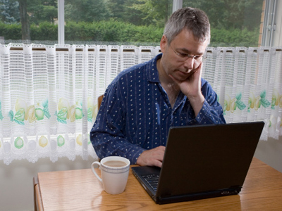 Rad od kuće: Na posao u pidžami