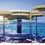 Hotel vodenih diskova u Dubaiju