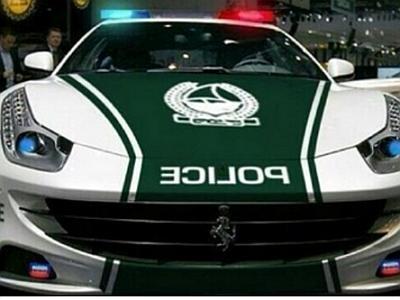 Policijski Ferrari – samo u Dubaiju