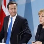 Merkelova razgovarala sa Kameronom