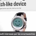 Microsoft radi na pametnom satu?