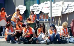 Hrvatska: Štrajkuju samo bogati