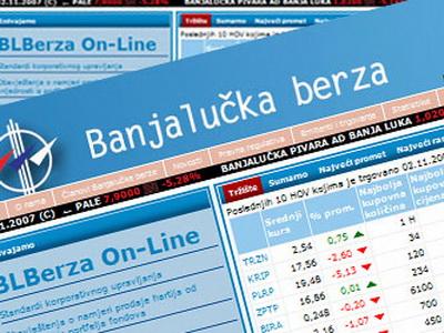 Banjalučka berza: Ostvaren promet od 214.933 KM