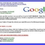 Google vam je poslao ovakvo pismo?