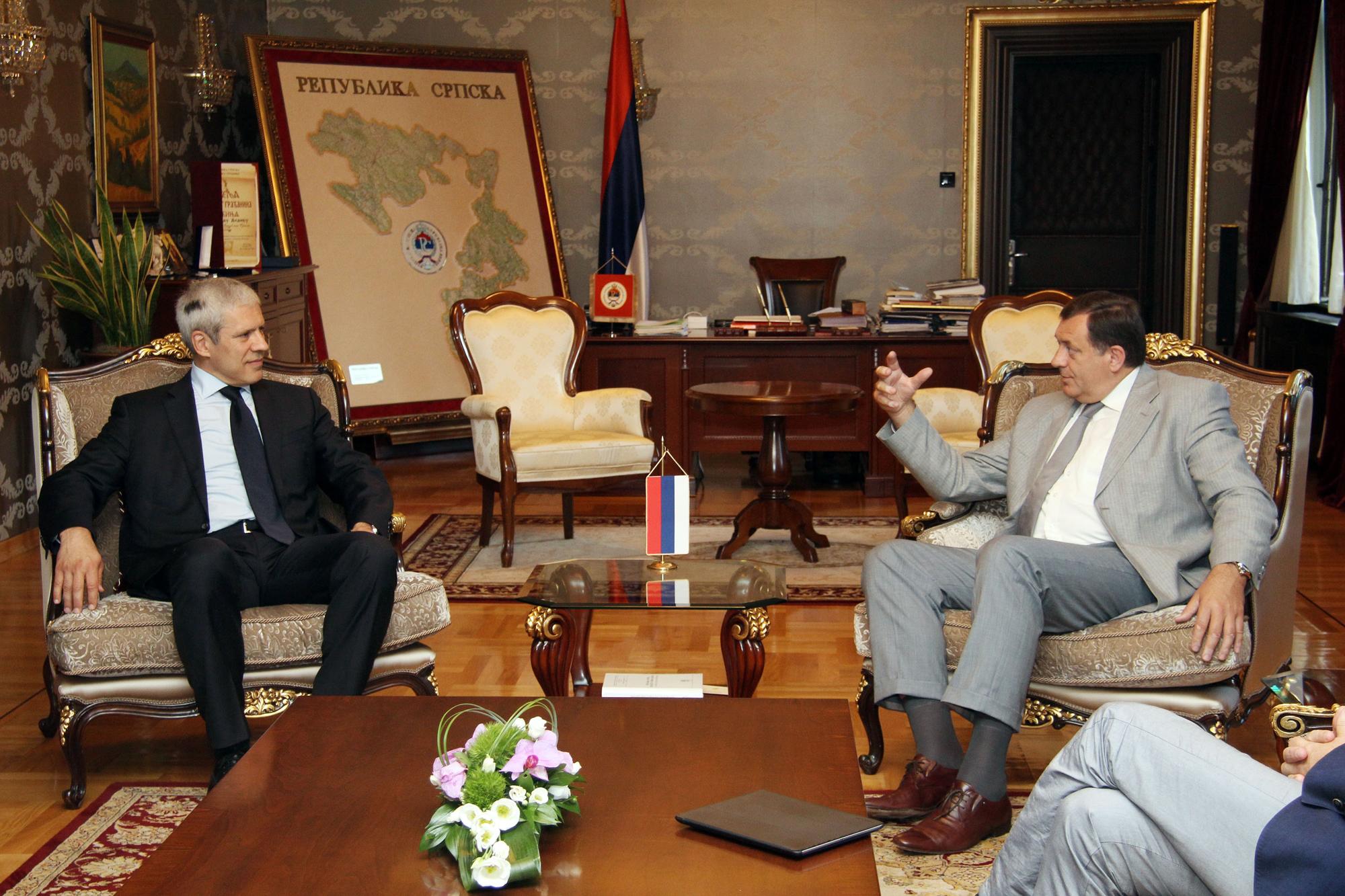 Dodik i Tadić o aktuelnoj situaciji u BiH