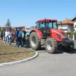 Protestna vožnja traktorima zbog niske cijene pšenice