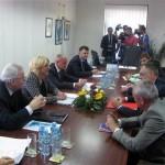 Počeo sastanak sa načelnikom opštine Teslić