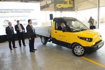Predstavljen prvi elektromobil u RS