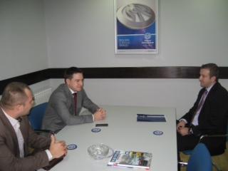Branko Ružić posjetio filijalu Dunav osiguranja u Sarajevu