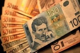 Dinar slabiji 0,1 odsto