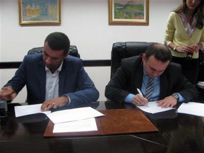 U Istočnom Novom Sarajevu potpisan ugovor o izgradnji prve faze Gradskog parka