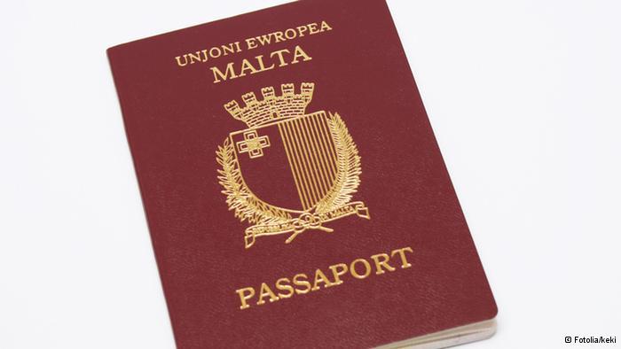 Malta: Pasoši EU na prodaju