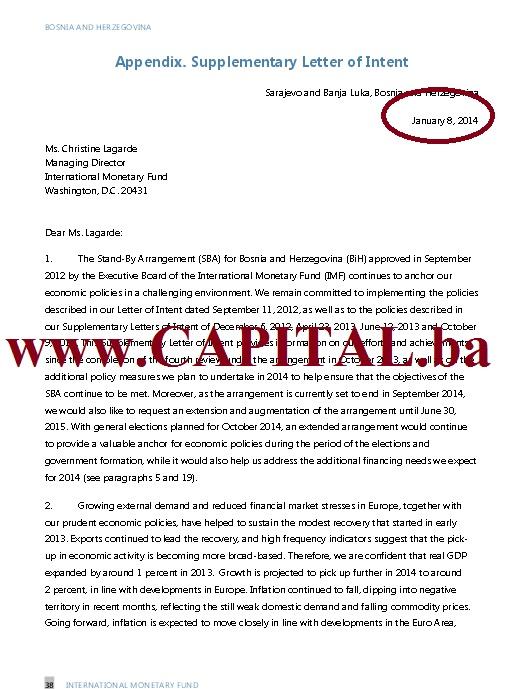 Dodatno pismo namjera MMF str1.