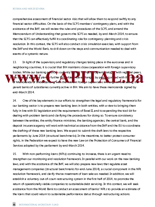 Dodatno pismo namjera MMF str10