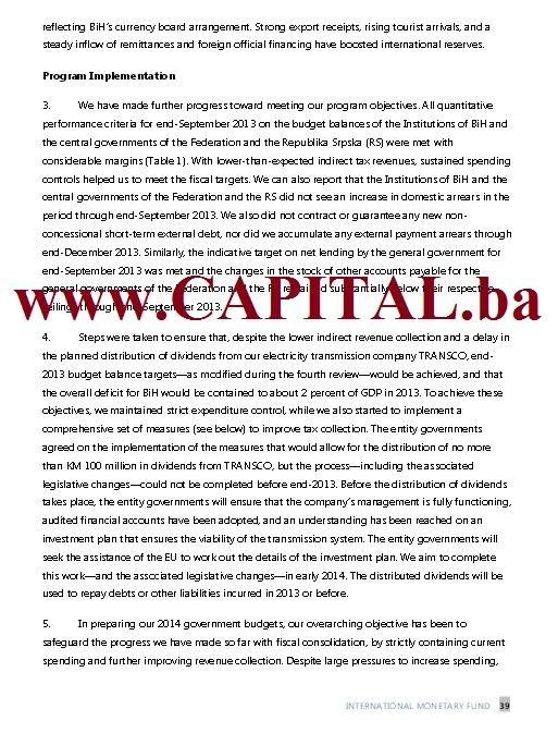 Dodatno pismo namjera MMF str2.
