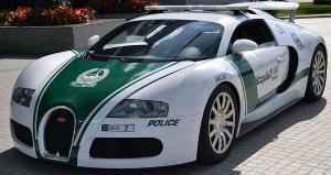 Bugatti Veyron kao patrolno vozilo policije u Dubaiju