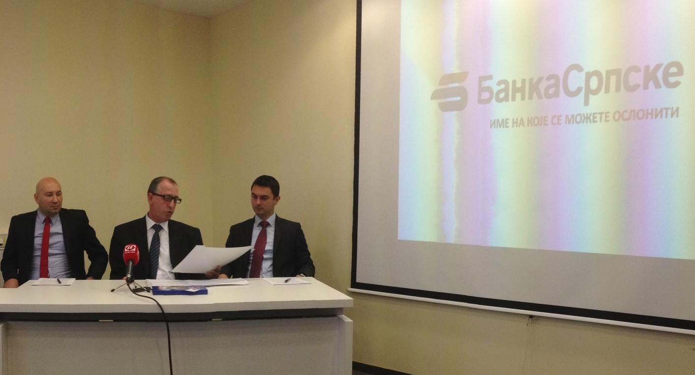 Banka Srpske u minusu 13,6 miliona KM