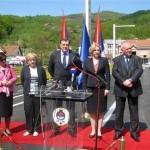 Otvoren most u Karanovcu