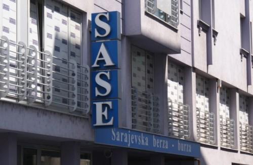 """SASE: Najveći pad akcija registrovao """"Bosnalijek"""""""