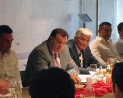 Predsjednik Srpske na Jahorini sa privrednicima