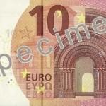 Nova novčanica od 10 evra