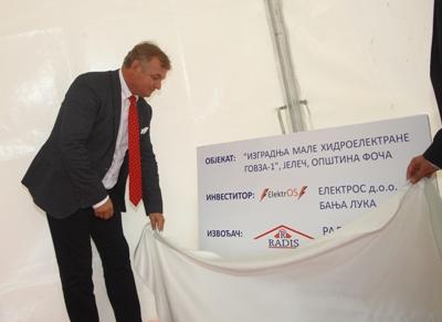Počela gradnja elektrane na rijeci Govzi