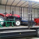 "Kina donirala traktor PZ ""Gornji Ribnik"""